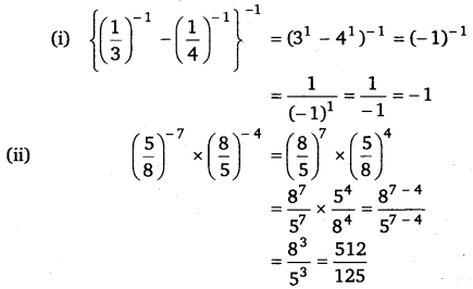 NCERT Solutions for Class 8 Maths Chapter 12 Exponents and Powers 8