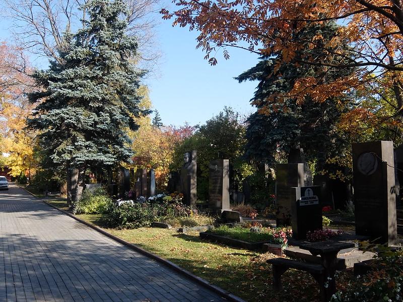 Москва - Новодевичье кладбище