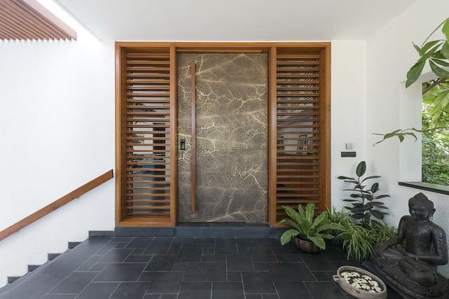 Wooden main door entrance