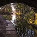 Under Clarke Lane bridge, Macclesfield Canal