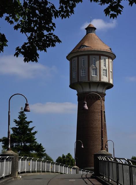 Der Wasserturm von Lingen (1), Nikon D750, AF-S Nikkor 24-120mm f/4G ED VR
