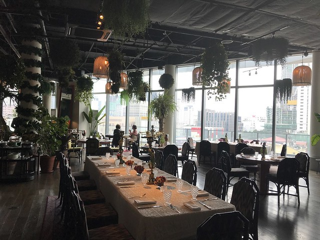 Manila House, dining area