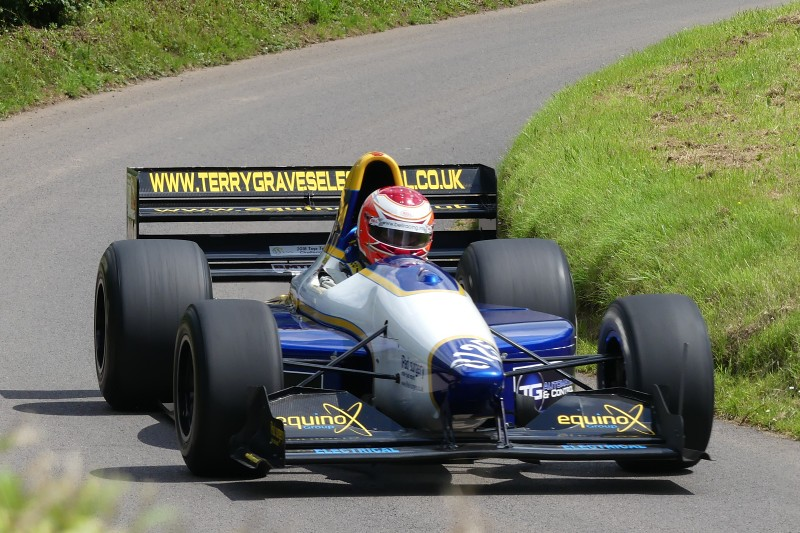 Terry Graves, Gould GR55HB at Shelsley (I Beard)