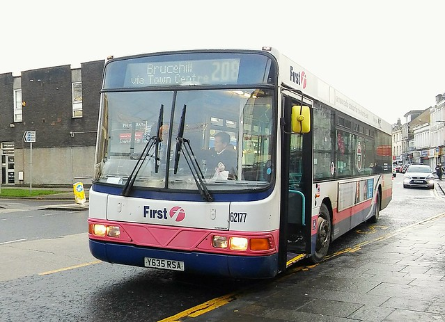First Glasgow  Y635 RSA  62177