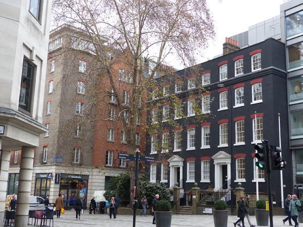 immeuble noire cannon street