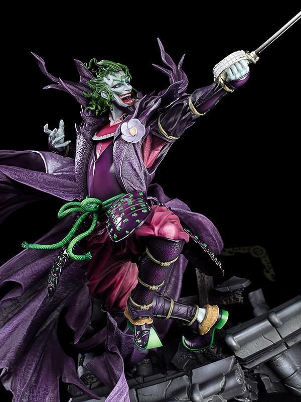 【更新官圖&販售資訊】Wonderful Hobby Selection《忍者蝙蝠俠》戰國JOKER(戦国ジョーカー)TAKASHI OKAZAKI Ver. 1/6比例雕像
