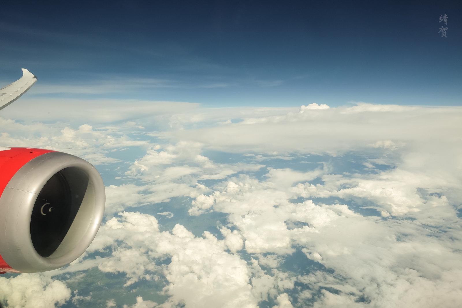 Clouds over Peru