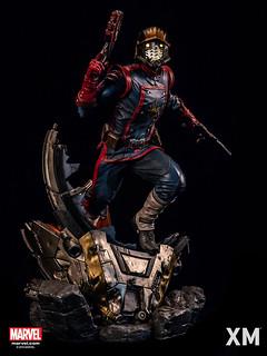 讓漫畫迷大興奮的超帥造型!! XM Studios Premium Collectibles 系列 Marvel【星爵】Star-Lord 1/4 比例全身雕像作品
