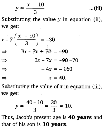 NCERT Solutions for Class 10 Maths Chapter 3 Pair of Linear Equations in Two Variables e3 3d