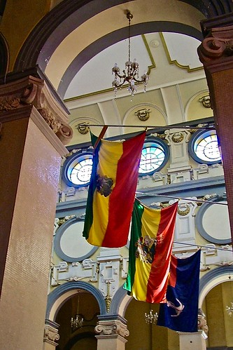 Interior, Holy Trinity Cathedral, Addis Ababa, Ethiopia, East Africa