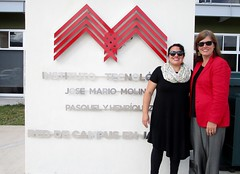 With EL Fellow Rosie at her host institution