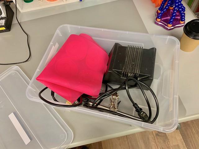 Revspace soldering kit