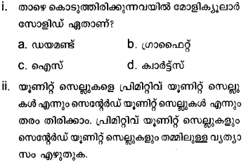 Plus Two Chemistry Model Question Papers Paper 2 10