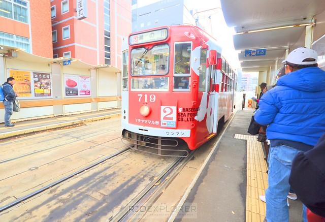 hokkaido itinerary hakodate tram