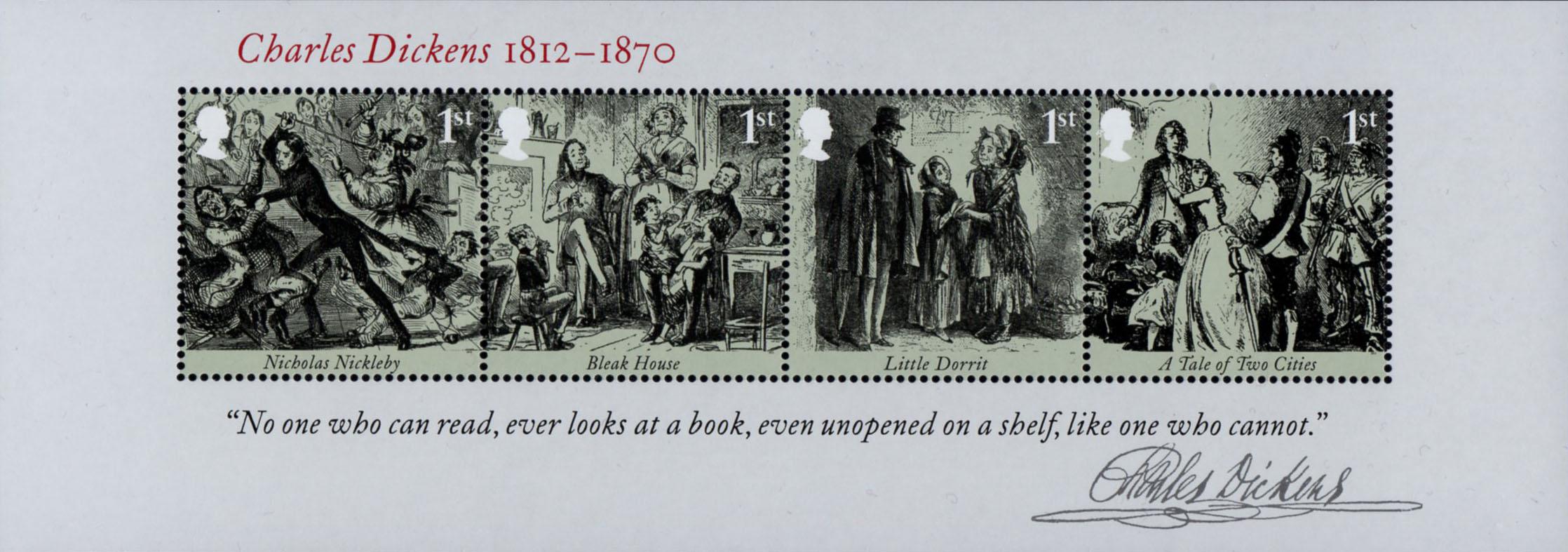 Great Britain - Scott #3043 (2012) miniature sheet of 4