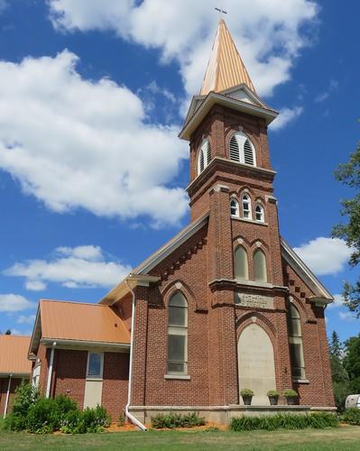 Sankt Johannes Evangelist Kirche (Pittsville, Wisconsin)