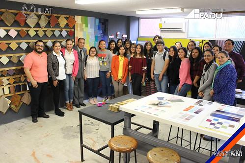 Se inaugura el taller de materiales de interiorismo en la FADU
