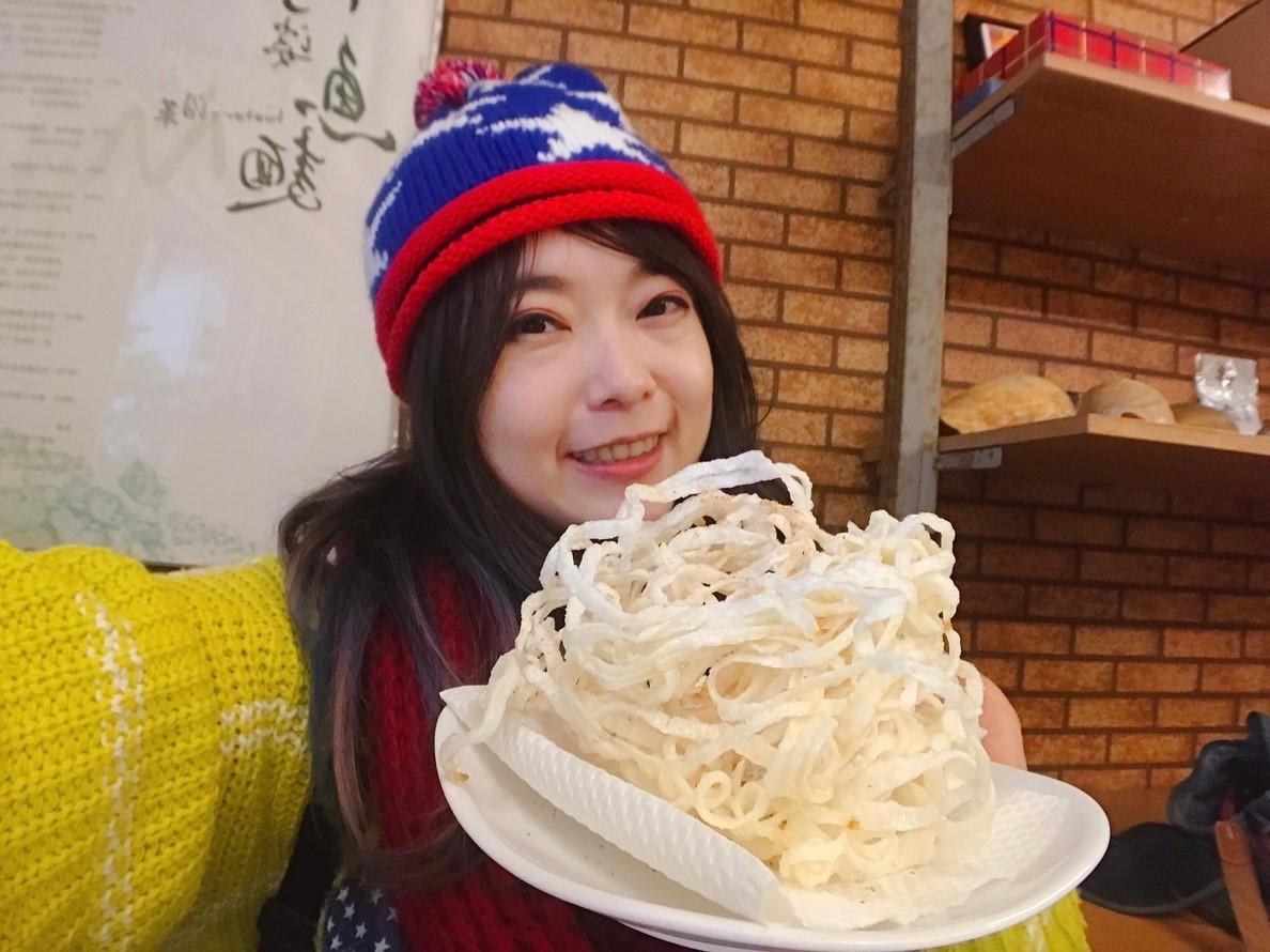 20181207 馬祖北竿 阿婆魚麵店 Selfie