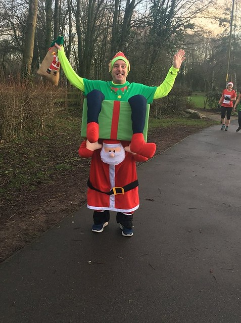Arrow Valley parkrun Christmas Day 2018
