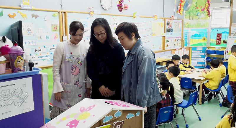 深圳寶安西鄉漢童幼兒園園長到訪