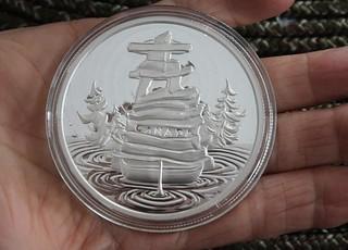 Symbolic Canada coin obverse