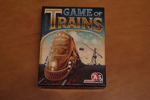 """Kartenspiel """"Game of Trains"""""""
