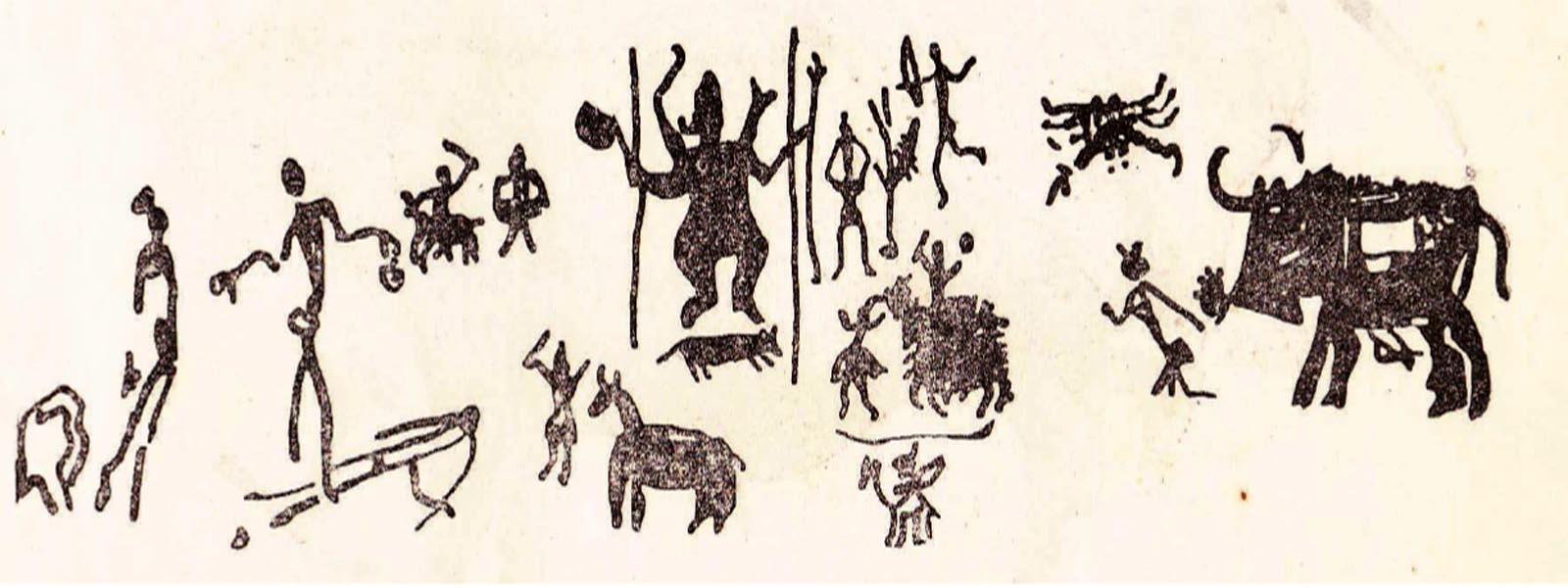 प्राचीन चित्रकारी