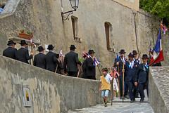 Op weg naar de kerk
