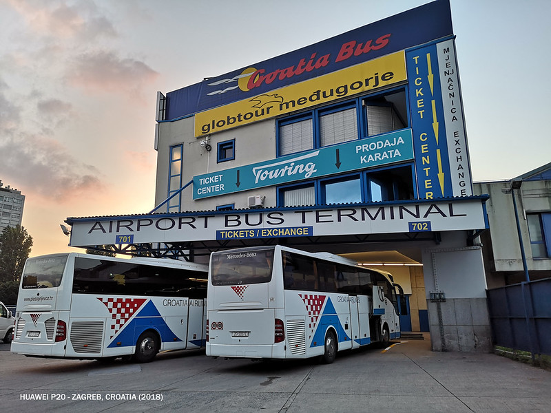 2018 Croatia Airlines Airport Bus Terminal