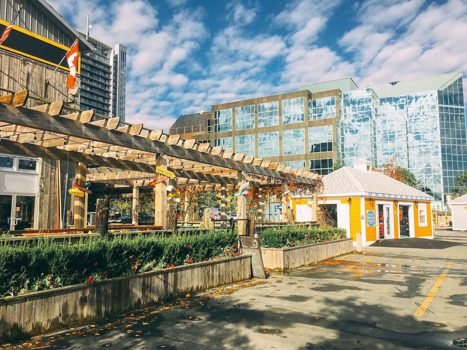 Halifax waterfront buildings
