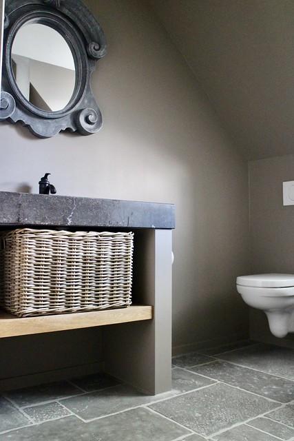 Badkamer meubel ossenoogspiegel