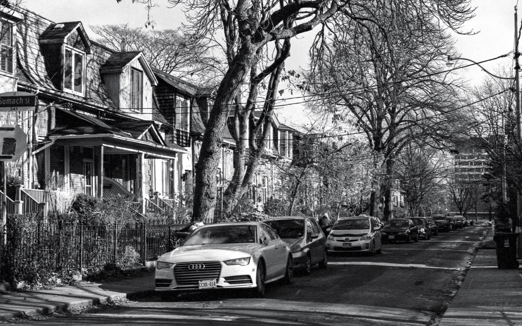 Audi on the Side Street