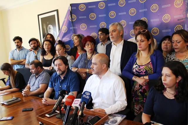 ANEF y Bancada de Oposición por despidos en el Estado (03-12-2018)