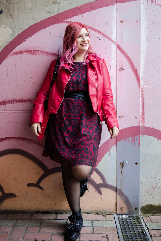 plus size curvy outfit abito leopardato miss big bones (3)