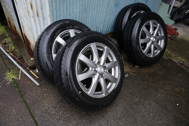 Change to a winter tyre