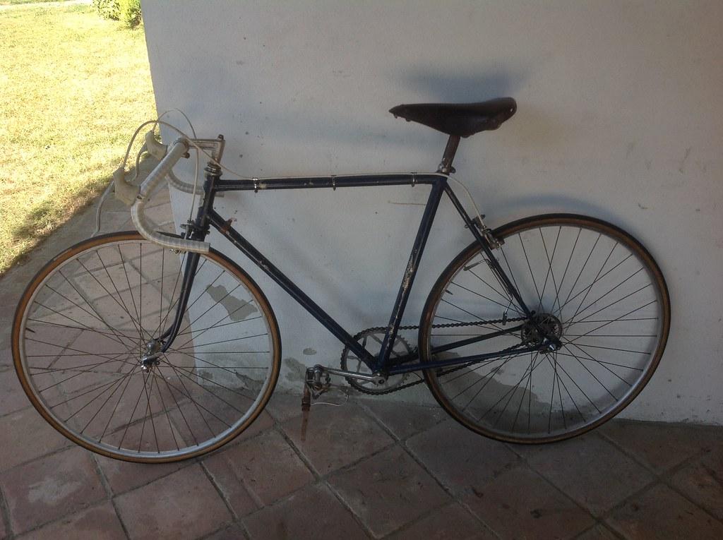 Bicicletta d'epoca da corsa marca Marco Giuntelli - fine '48 inizio '49