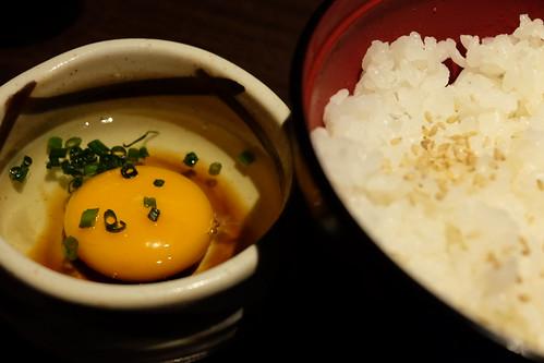 塩麹卵かけご飯