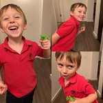 Archer and his broccoli. by bartlewife