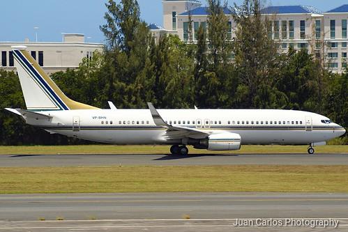 Private Boeing 737-8AN BBJ2 VP-BHN