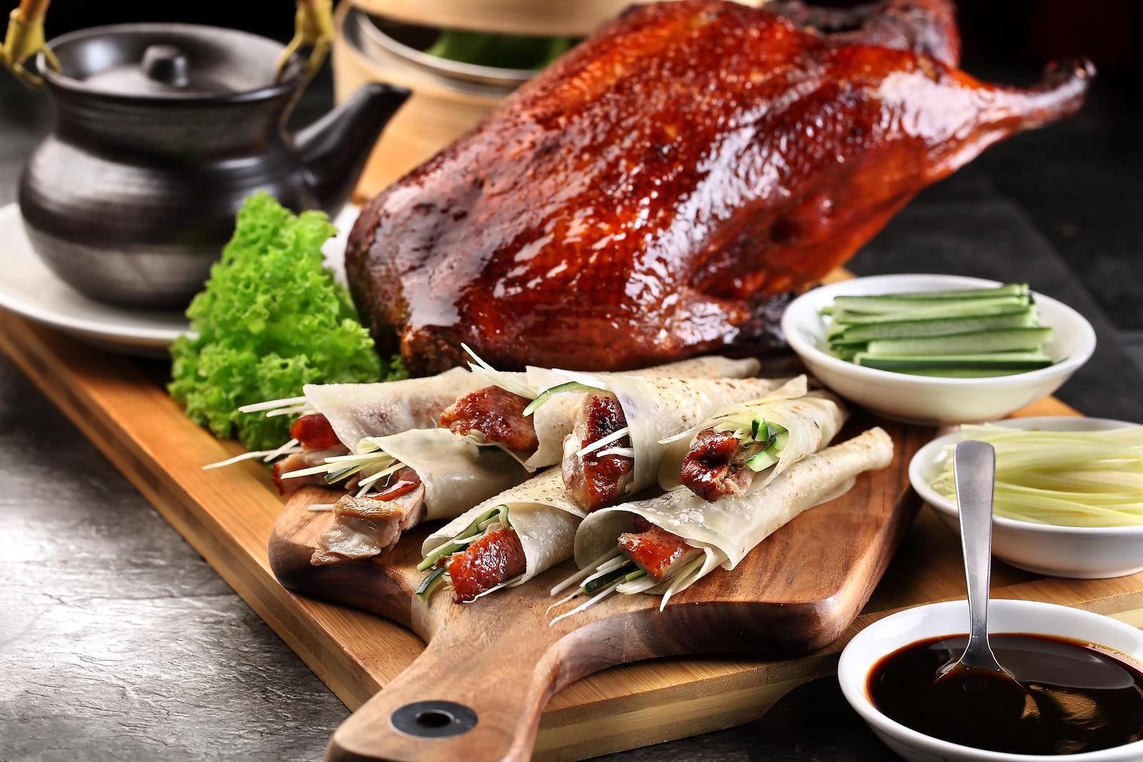 牡丹玉-北京烤鸭