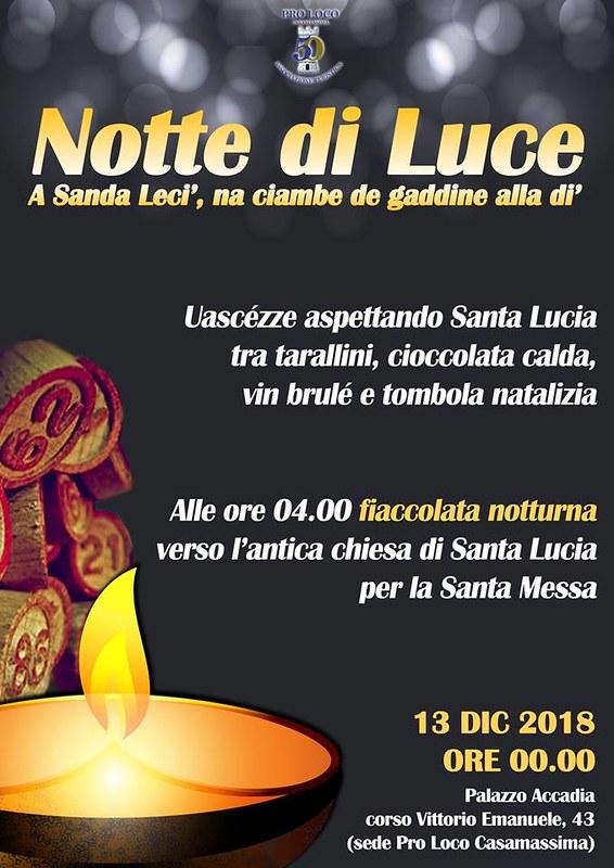 Notte di Santa Lucia Casamassima