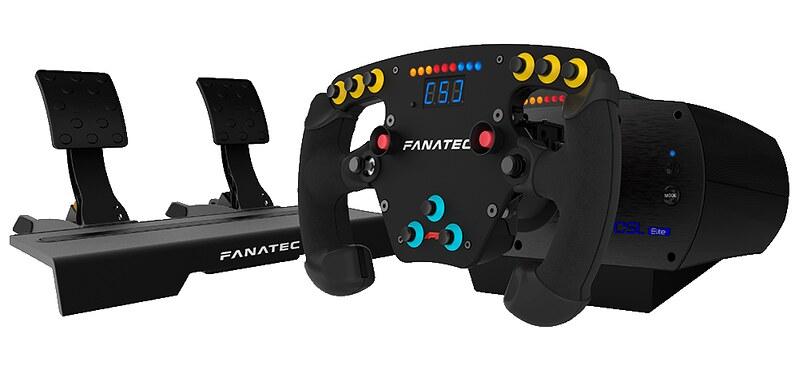 Fanatec CSL Elite F1 Esports Bundle