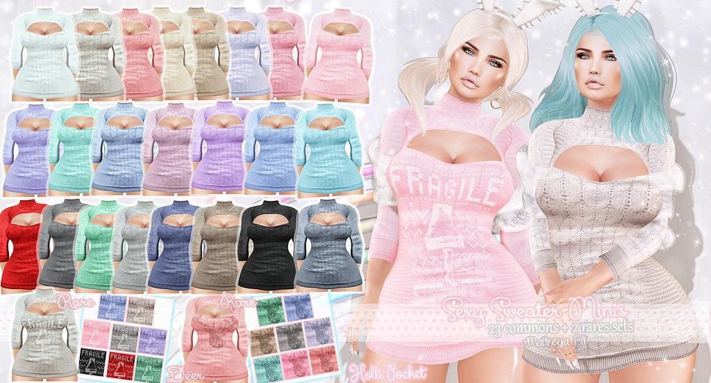 HolliPocket-Sexy Sweater Dress Ad
