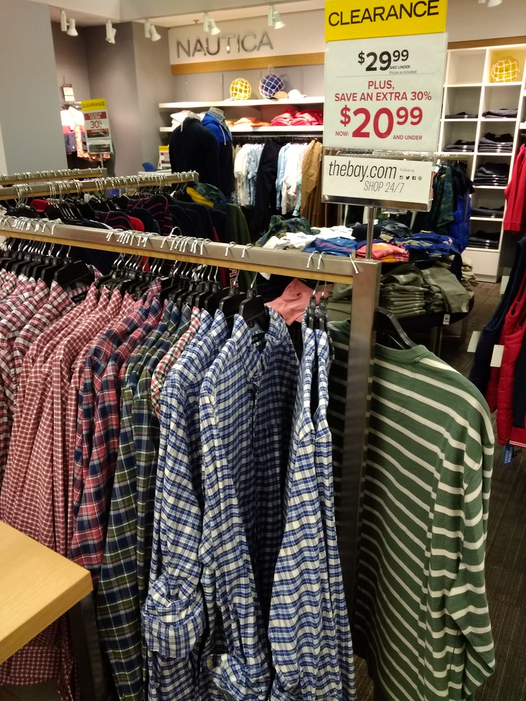 Nautica shirts extra 30% OFF
