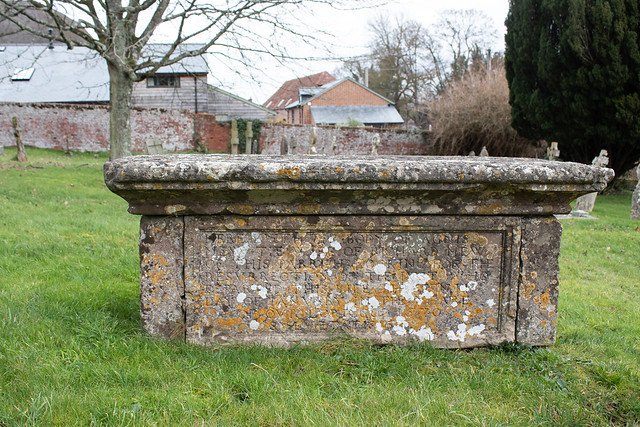 Agnes Mew table tomb, Iwerne Courtney