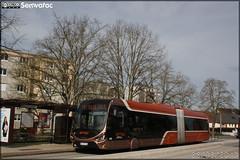 Iveco Bus Créalis 18 GNC - Setram (Société d'Économie Mixte des TRansports en commun de l'Agglomération Mancelle) n°309 - Photo of Souligné-Flacé