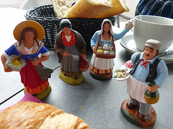 petit déjeuner des santons