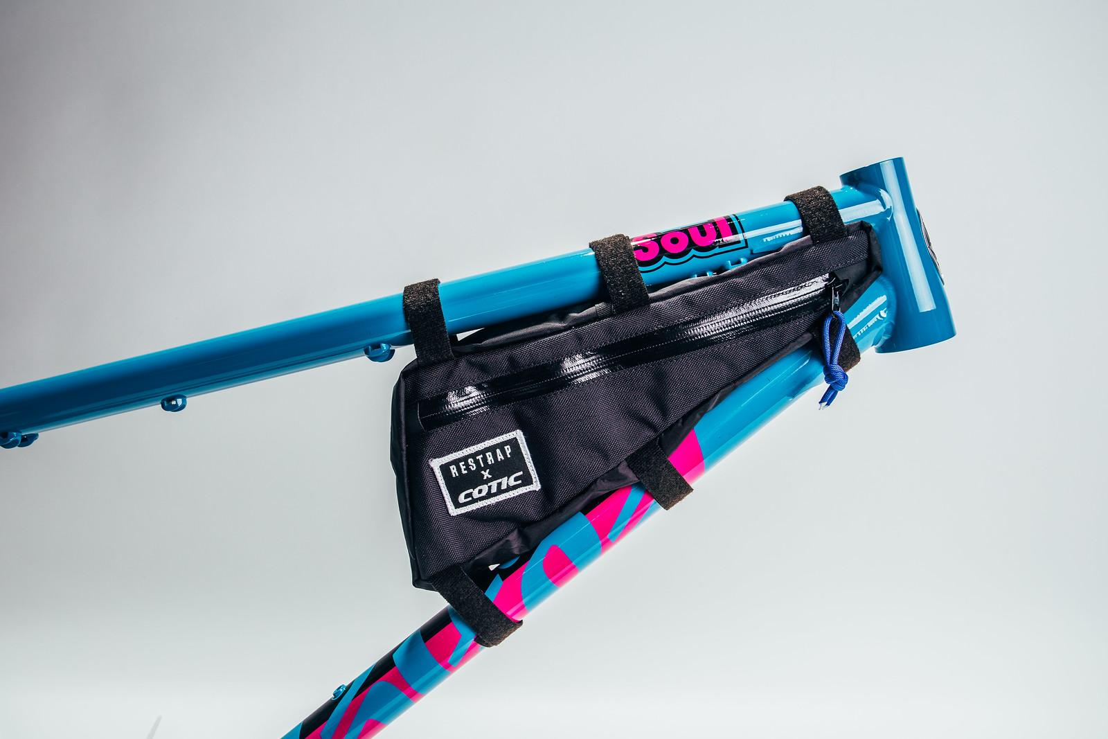 Longshot frame bag for XS, S & M frames