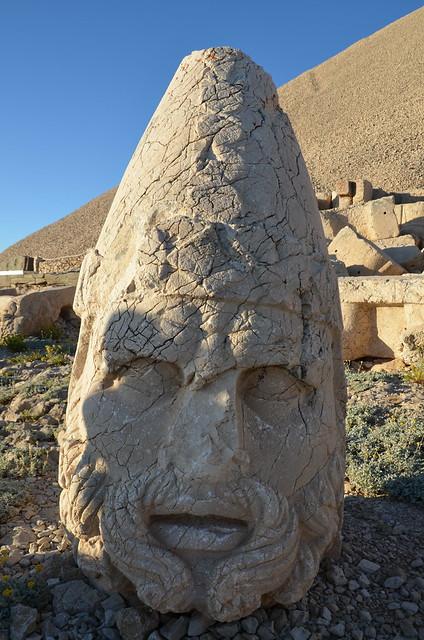 Head of Artagnes-Heracles-Ares, West Terrace, Nemrut Dagi, Turkey