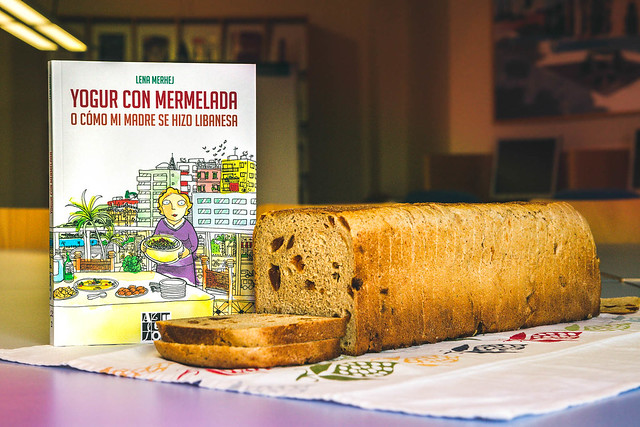 Club de lectura Tres con libros. 'Yogur con mermelada' de Lena Merhej
